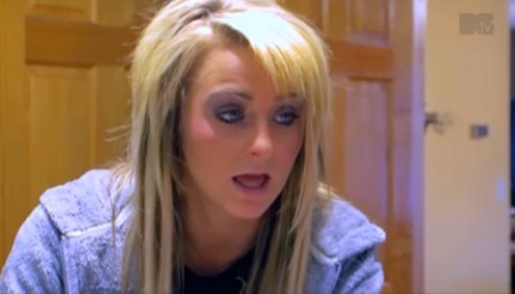 EXCLUSIVE REPORT: Source Says 'Teen Mom 2′ Star Leah Calvert Has Been Doing Pills Since 2009