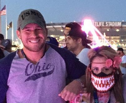 Nathan and Jenelle were all (rave mask) smiles just days ago...