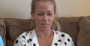 This is the actual face that Kendra makes when she talks about kissing her husband.