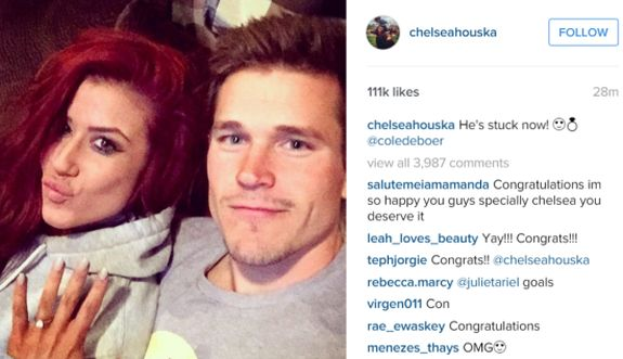 Congrats to Chelsea and Cole!